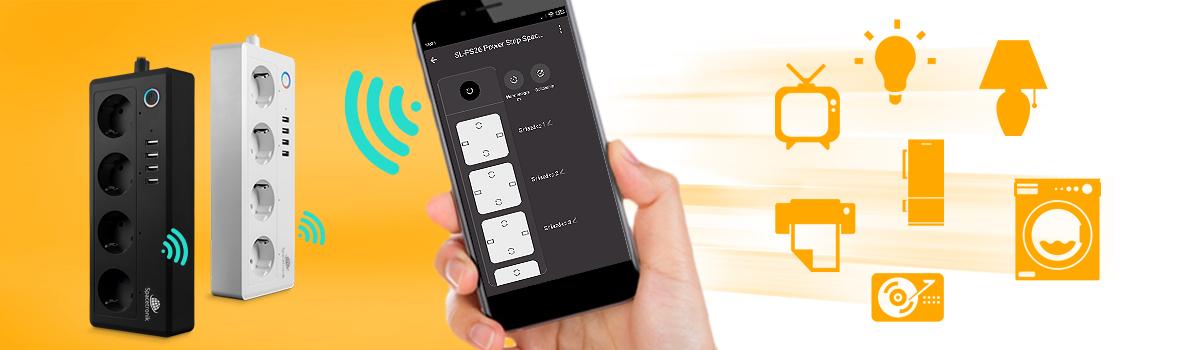 Kontroluj swoje urządzenia Smart Home Wi-Fi